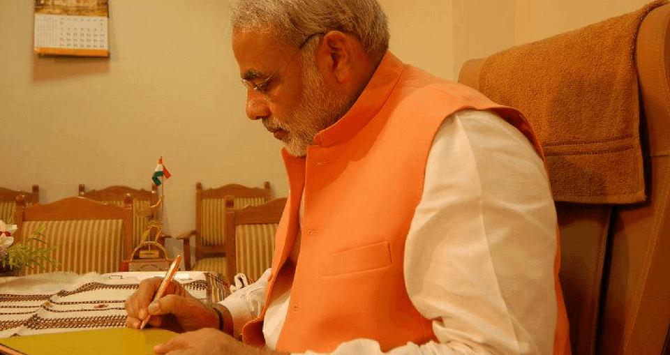 U-turns of Narendra Modi