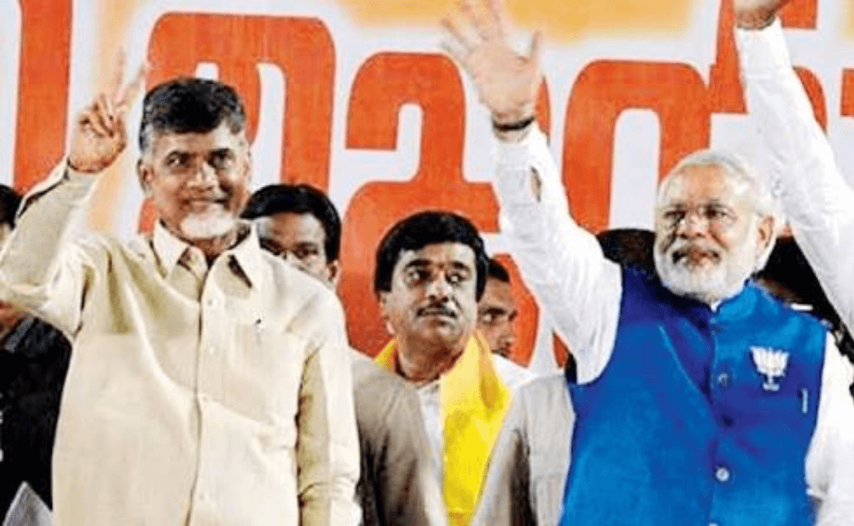 TDP-BJP Breakup