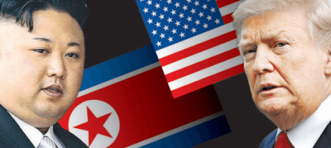 conflict between America and North Korean.