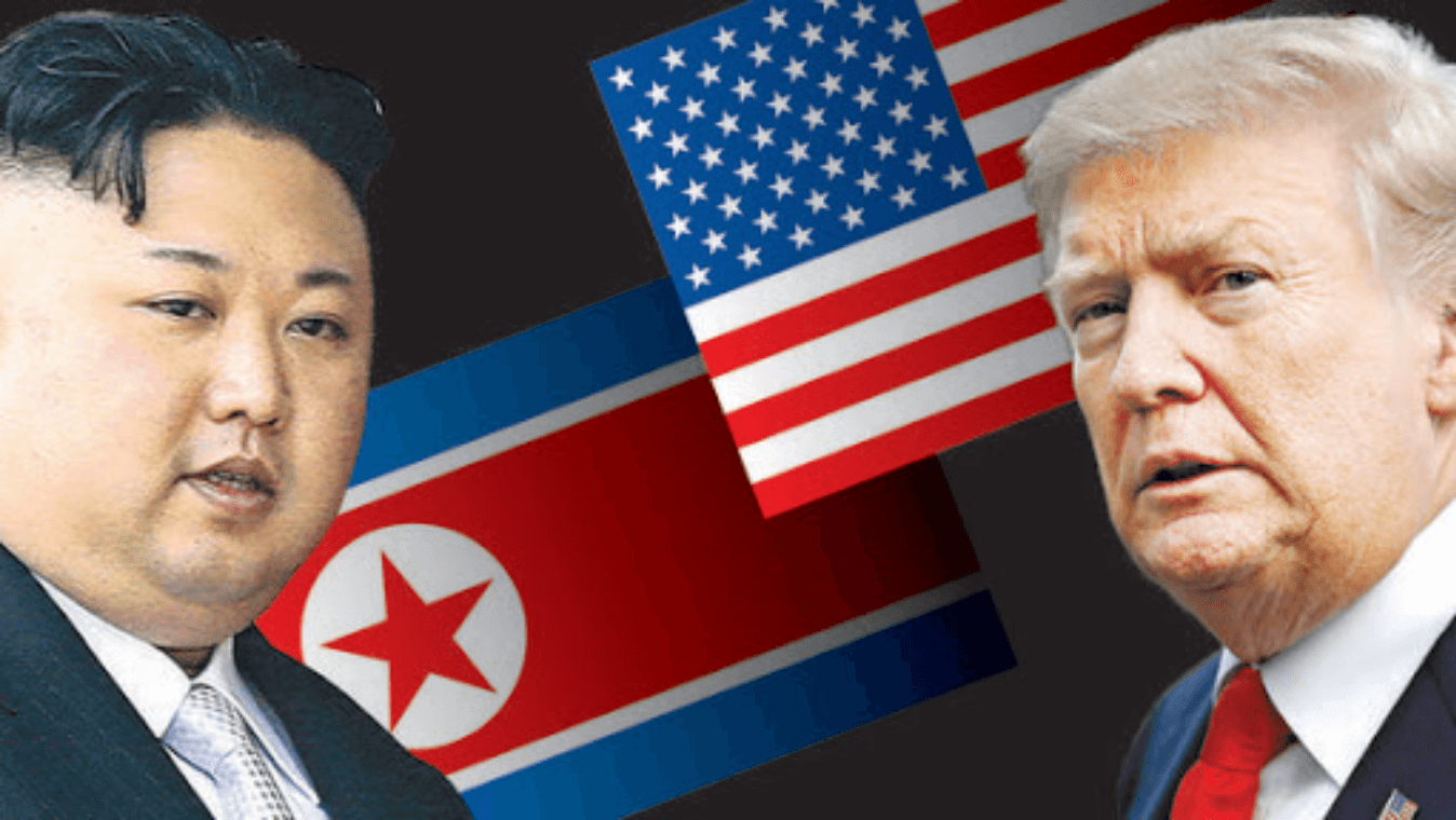 What is the conflict between America and North Korea?
