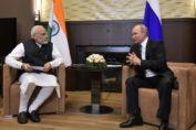 Modi-Putin Unofficial meet