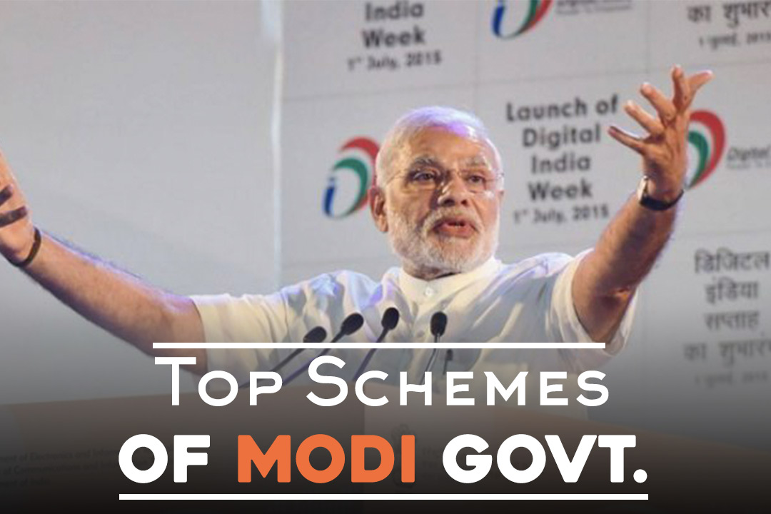 Top 10 Schemes of Modi Govt. Which May Help Him Win the 2019 General Electons