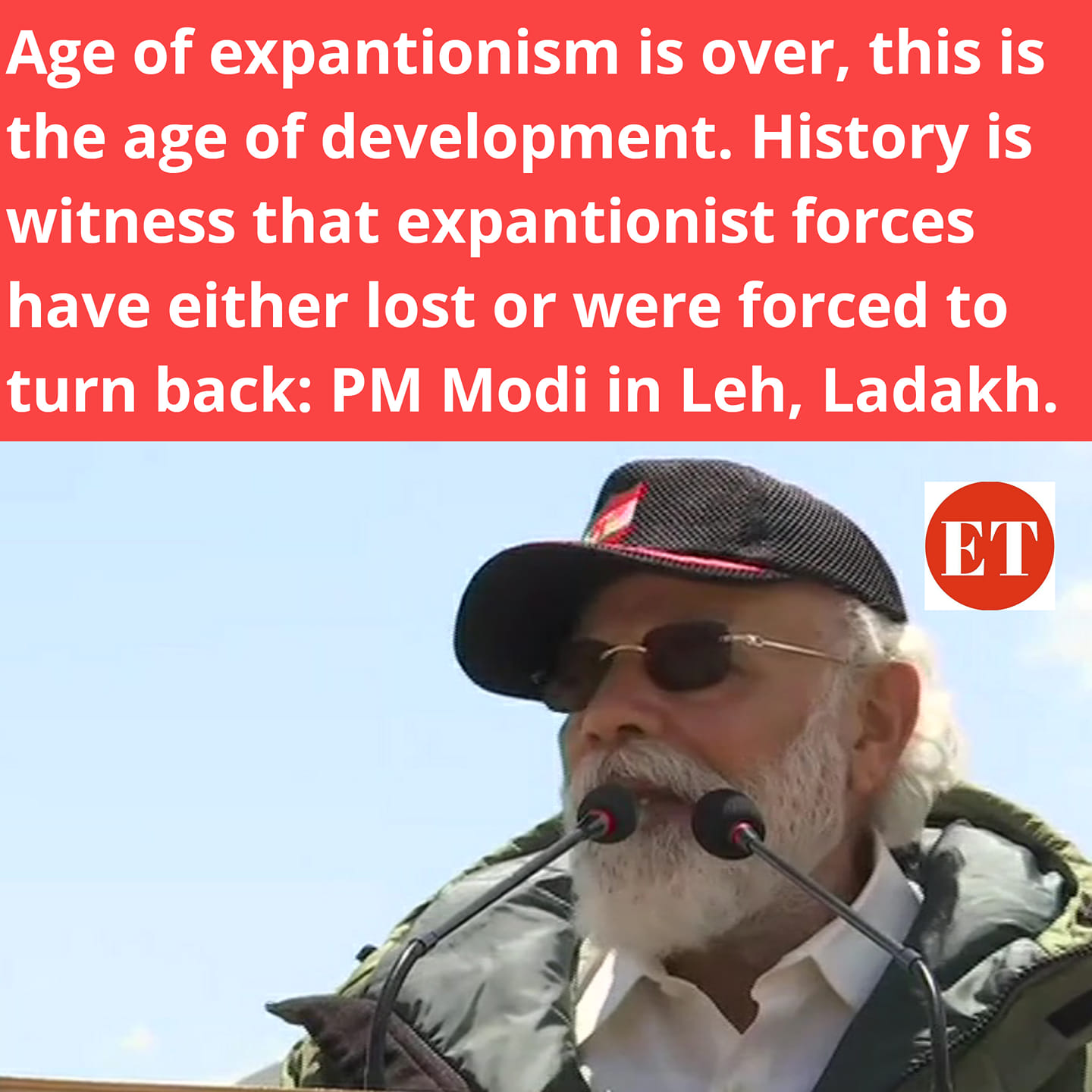 Age of Expantionism is over